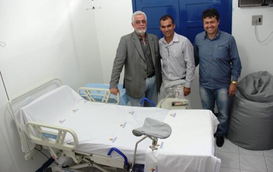 reinauguração do hospital municipal-assis.alex e solla