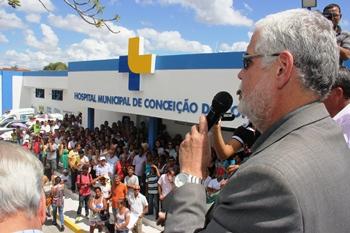 reinauguração do hospital municipal-solla