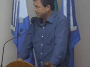 Vereador José Paulo Carvalho de Oliveira Foto: Reprodução