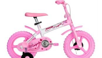 O recall das bicicletas Cecizinha Aro 12 foi anunciado nesta segunda-feira