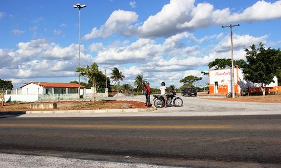 Acesso a Lamarão via BR 116 é um dos pontos mais perigoso, teve grande redução de acidentes depois que foi colocado dois quebra-molas.