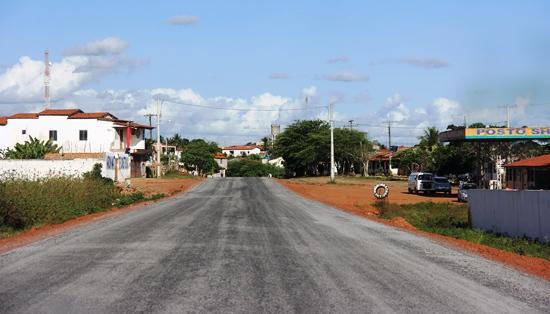 A estrada levará o progresso a Lamarão que  não possuía asfalto de qualidade a muito tempo.