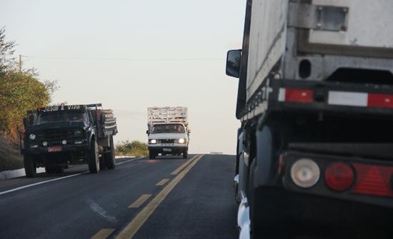 O trecho de Teofilândia a Serrinha, 18 km, é considerado de maior congestionamento.