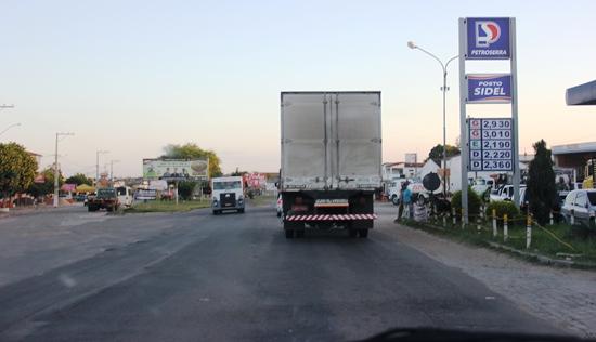 O contorno principal de acesso à cidade de Serrinha é considerado o marco inicial do trecho que o Ministério dos Transportes pretende duplicar