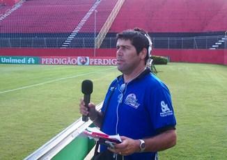 O Garotinho Walter Silva sempre atento aos jogos das equipes da Região do Sisal.