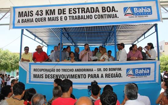 inauguração da estrada de Andorinha - 1