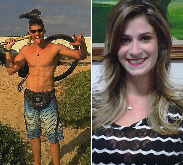Os irmãos Emanuel e Emanuelle morreram no acidente na manhã de hoje