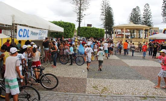 passeio ciclistico  dia das crinaças coité - foto - raimundo mascarenhas - 3
