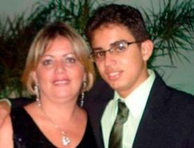 O filho da vereadora Karlúcia Macêdo tinha apenas 18 anos (Foto: Reprodução/Alô Alô Salomão)