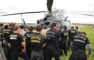 PF realizou uma mega operação contra os garimpos clandestinos.