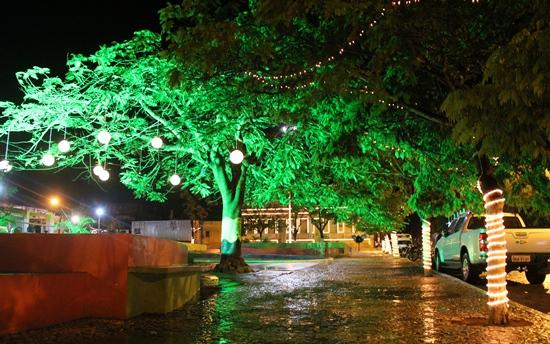 Ornamentação natalina em Queimadas - 3- foto- Raimundo Mascarenhas - CN
