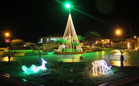 Ornamentação natalina em Queimadas - 4- foto- Raimundo Mascarenhas - CN