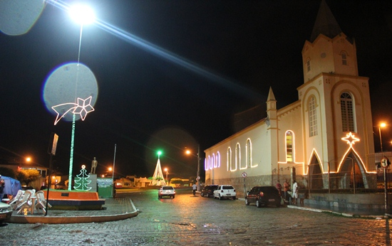 Ornamentação natalina em Queimadas -6- foto- Raimundo Mascarenhas - CN