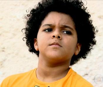 Lucas Neiva, 8 anos, ficou na lista de espera da escola Foto: Reprodução