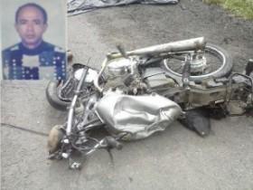 acidente de  moto em Araci