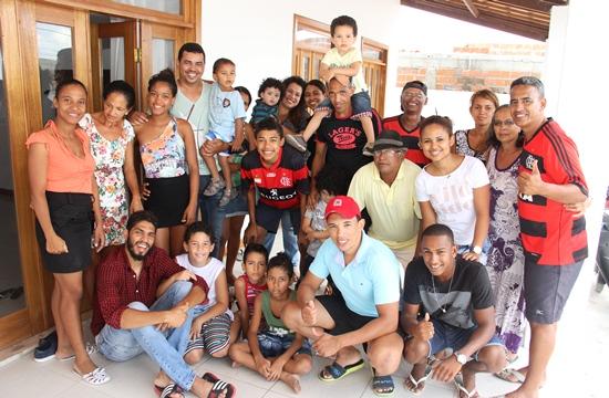 Família Reis liderada por Arivaldo conhecido Teiú.