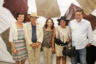 Deputado federal Afonso Florence também se fez presente na abertura da festa.