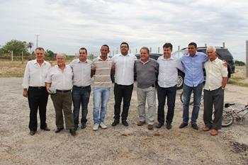 Geddel com lideranças de Coité e Valente