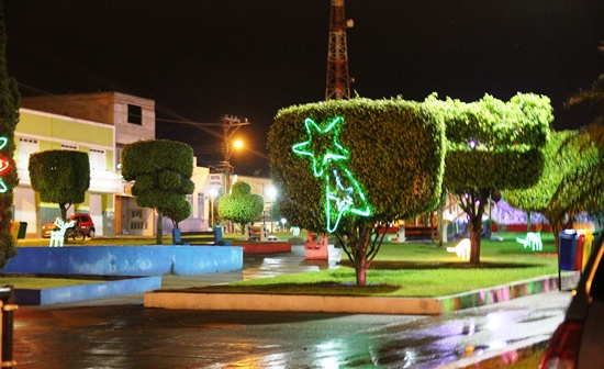 Praça Nilton Oliveira - Santaluz