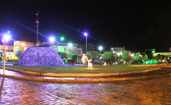 Praça Nilton Oliveira - Santaluz - Foto: Raimundo Mascarenhas