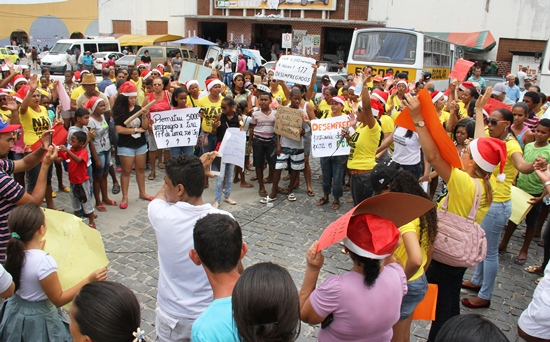 manifestação do peti -des