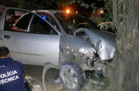 policial morre em acidente-des
