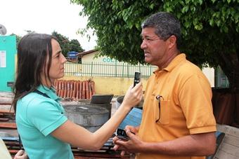 A repórter Vilmara de Assis acompanhou o CN colheu várias entrevistas que serão veiculadas nesta segunda em seu programa Mulher em Movimento na Radio Regional.