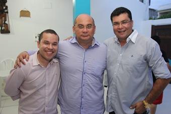 Prefeito Zenonzinho, Dermeval da CAR e Marcinho da CLN