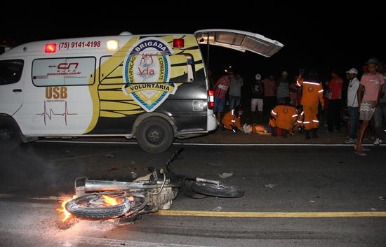 acidente na ba 409