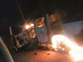 carro queimado em seabra