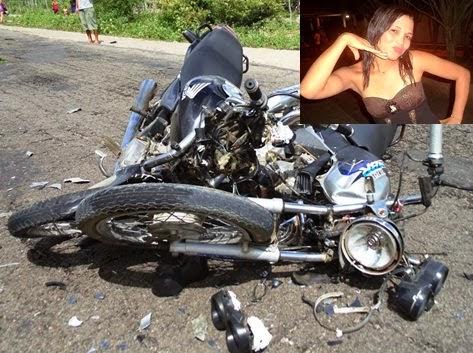 colisão de motos
