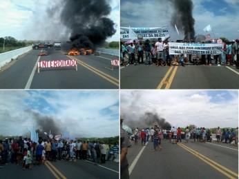 manifestação br 235