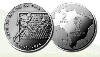 moeda comemorativa - 2