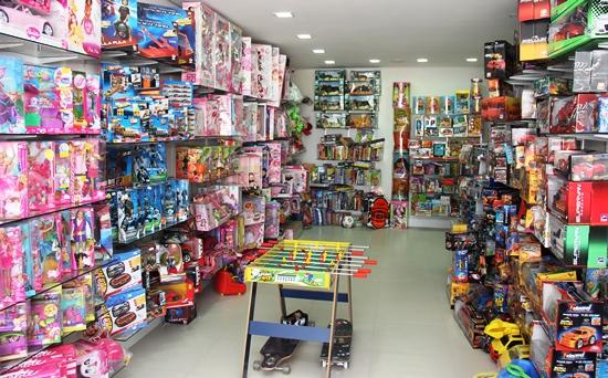 1º andar destinado somente para brinquedos
