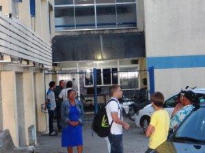 Os passageiros foram prestar queixas no Complexo Investigador Bandeira