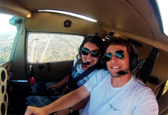 piloto e noiva