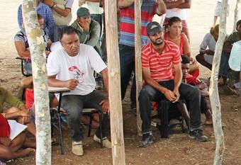 Pascoal a esquerda disse que o movimento vai ocupar muitas fazendas neste ano de 2014