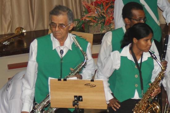 Última apresentação da Filarmônica com a presença de Nadinho foi no Sarau Social promovido pelo Juiz Gerivaldo Neiva em 11/10/13