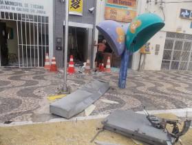 O Pelotão fica vizinho e estrutura pode ter danificada por conta da explosão.