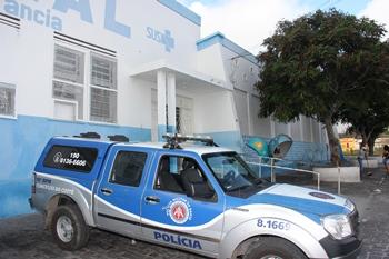 viatura em frente ao Hospital Regional - HR - foto- Raimundo Mascarenhas