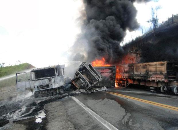 acidente na br 116 - sul