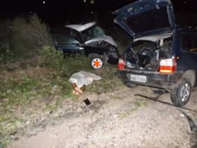 Segundo a PRF os dois motoristas puxaram os carros para o mesmo lado para não bater