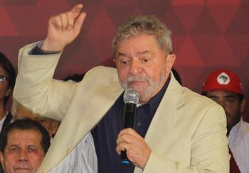 Ex-presidente Lula não é alvo da investigação