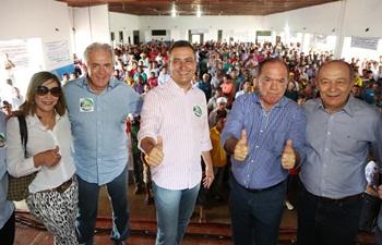 Prefeita de Euclides da Cunha Fátima Nunes e seu esposo e deputado federal José Nunes ambos dos PSD apoiam a pré-candidatura da chapa.