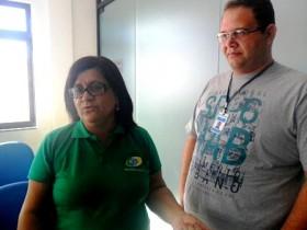 Cácia Cedraz e Paulo Roberto