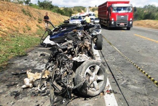 acidente na br 116