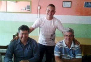 Alex, Marcos e Batuta