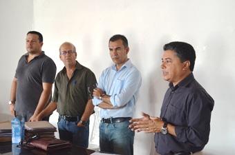 O ato contou com a presença do gerente do Banco do Brasil.