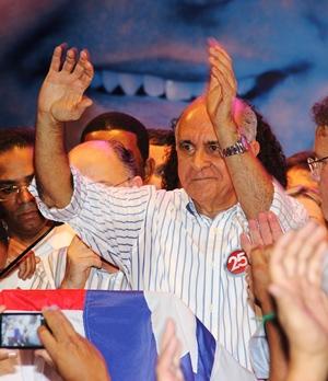 Souto derrotado nas duas últimas eleições no primeiro turno pode ir a revanche.