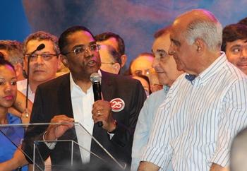 Bispo Marinho prometeu empenho de todo partido para ajudar na eleição de Paulo Souto.